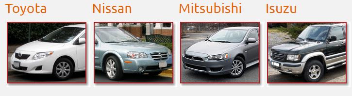 Toyota - Nissan - Mitsubishi - Isuzu Wreckers
